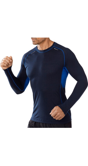 Smartwool M's PhD Ultra Light Long Sleeve Deep Navy